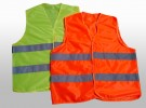 CHALECO 100% POLIESTER FLUO, CLASE 1.
