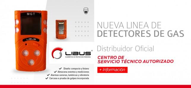 Nueva Linea Detectores de Gases!