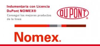 Indumentaria con Licencia DuPont™ NOMEX®